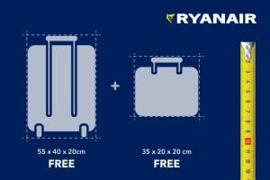 Ryanair lagamino ismatavimai